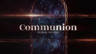 Nativity Glass Communion