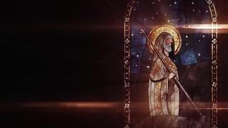 Nativity Glass Joseph