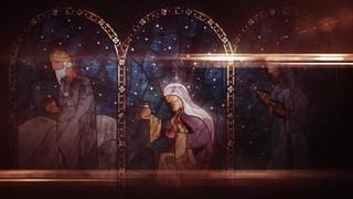 Nativity Glass Magi