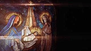 Nativity Glass Nativity