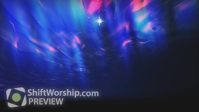Preview of Nativity Glow Star Shine
