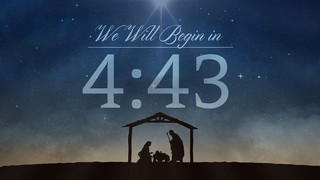Nativity Night Countdown
