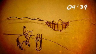 Nativity Sketches Countdown