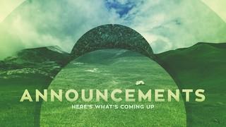 Natural Announcements