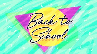 Neon Back to School