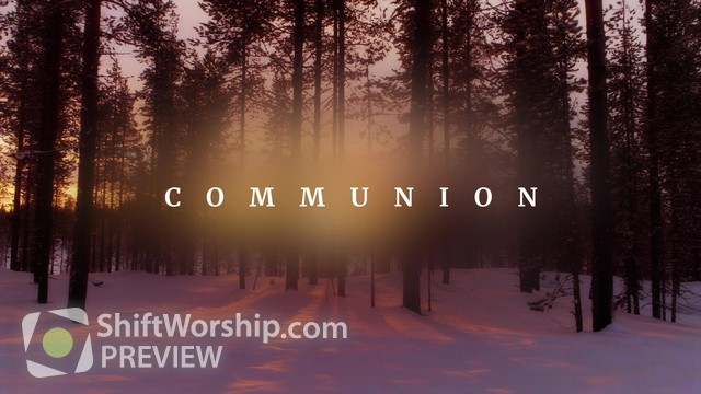 Preview of New Beginning Communion