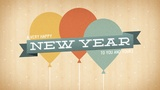 New Year Balloons (Motions)