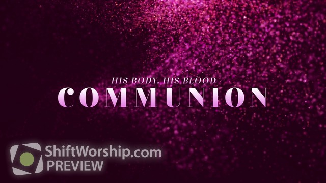Preview of New Year Glitter Communion