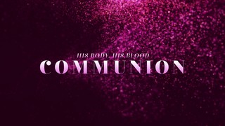 New Year Glitter Communion
