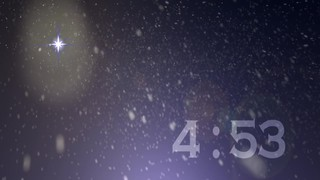 Night Snow Countdown