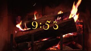 Nostalgic Fireplace 10 Min Countdown