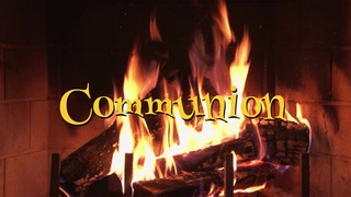 Nostalgic Fireplace Communion