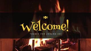 Nostalgic Fireplace Welcome Stream
