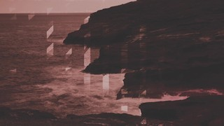 Ocean Shore Burnt
