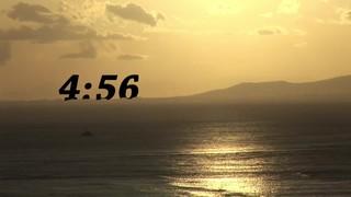 Ocean Sunset Countdown