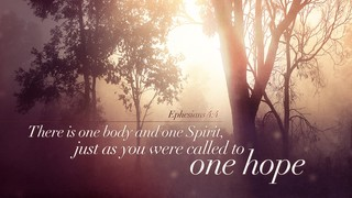 One Hope Verse