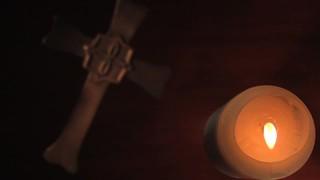 Overhead Candle Cross