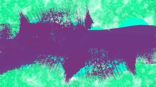Paint Brush Purplegreen