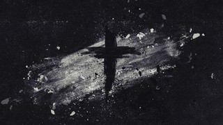 Painted Ash Cross Black White