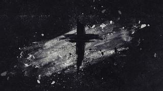 Painted Ash Cross Black White