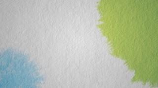 Paper Drops Green