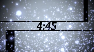 Blue Particles Countdown