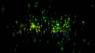 Particle Streaks Green