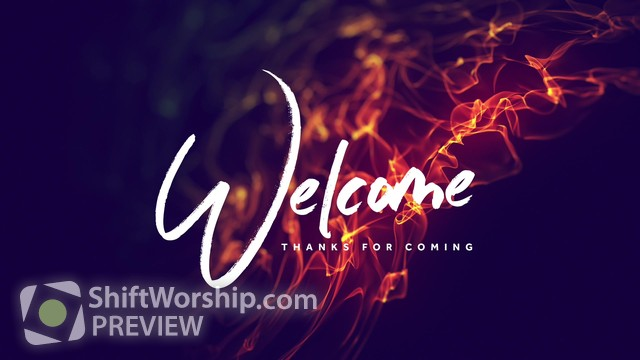 Preview of Pentecost Flames Welcome