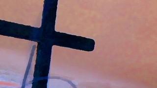 Pink Sky Cross
