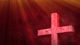Pink Texture Cross