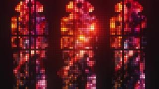 Pixel Glass Triptych