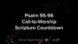 Just Countdowns Scripture Countdown