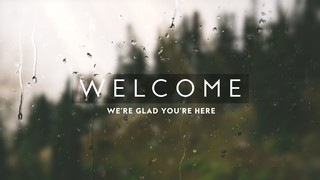 Rainy Day Welcome