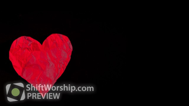 Preview of Red Paper Heart