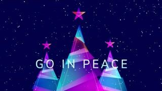Retro Christmas Exit