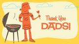 Retro Dad Thank You