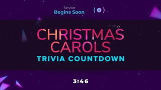 Retro Christmas Trivia Countdown