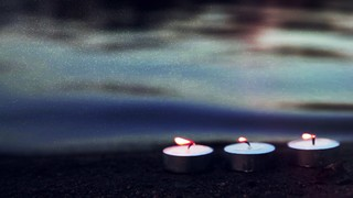 Seaside Candles Three