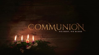 Simple Advent Communion