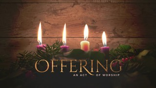 Simple Advent Offering