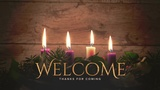 Simple Advent Welcome