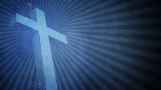 Simple Blue Cross