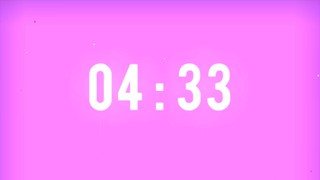Simple Colors Countdown