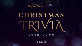 Sparkly Christmas Trivia Countdown