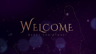 Sparkly Christmas Welcome