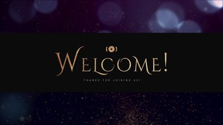 Sparkly Christmas Welcome Stream