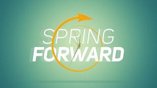 Spring Ahead Arrow