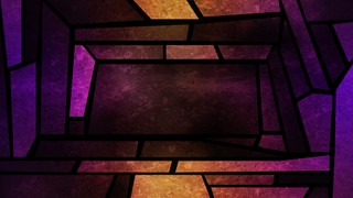 Stained Glass Rhomboid