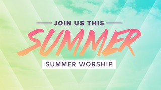 Summer Clouds Sermon Series
