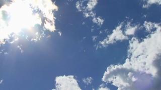 Sun Flare Clouds